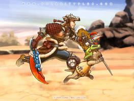 Monster Hunter - Go Team GO by polarityplus