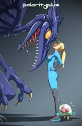 Metroid - Face Off by polarityplus