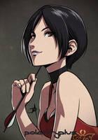 Resident Evil - Hookshot queen by polarityplus