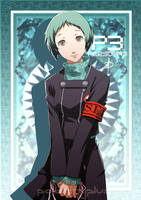Fuuka Yamagishi -  The Priestess by polarityplus