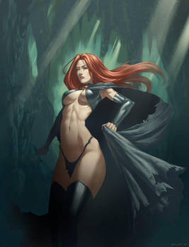 Goblin Queen by Speeh