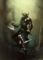 Minotaur by Speeh