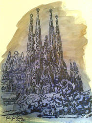 La belleza de Gaudi by apokaliptikosolstiz