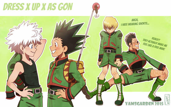 Dress up as Gon by YAMsgarden