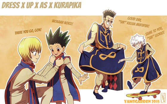 Dress up as Kurapika by YAMsgarden