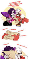 Papyrus on the menu Part 1 by YAMsgarden