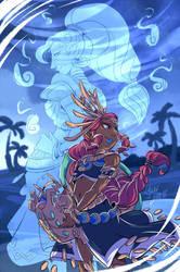 COLLAB Lalou: Urbosa and Riju by YAMsgarden