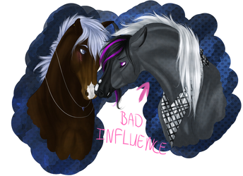 GA: Bad Influence by Paardjee