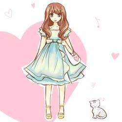 Girlie by kronakitty