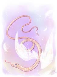 Angel snake by kronakitty
