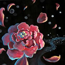 Space Flower by kronakitty
