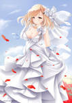 Prince of Wales wedding dress by mimelex