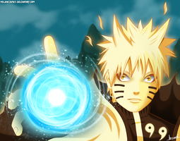 Naruto Sennin Bijuu - FanArt by Melonciutus