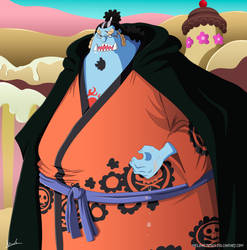 One Piece 863 - Jinbe by Melonciutus