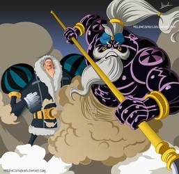 One Piece 864 - Charlotte Daifuku by Melonciutus