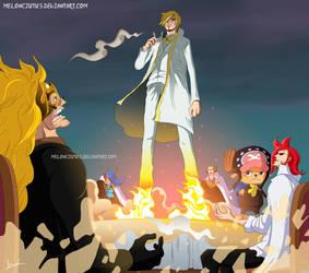 One Piece 865 - Epic Sanji by Melonciutus