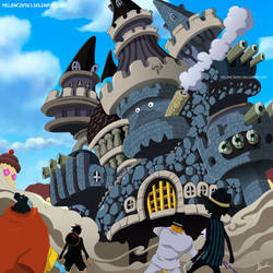 One Piece 868 - Gran Padre by Melonciutus