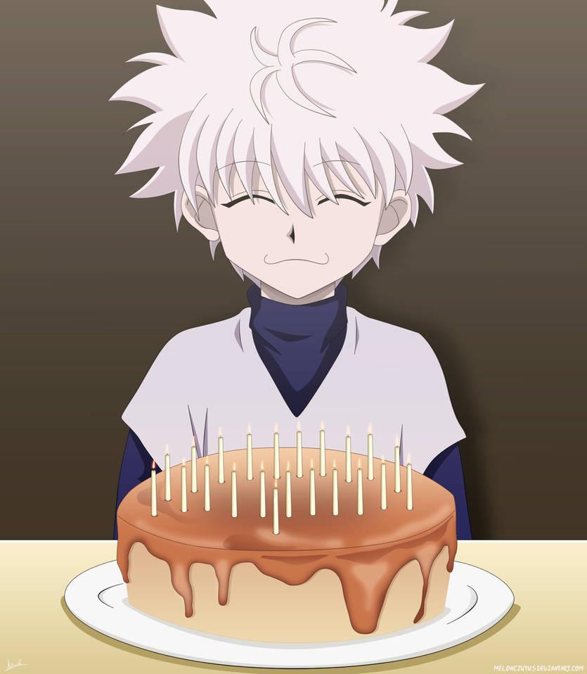 Happy Birthday MariaBlueNeko by Melonciutus