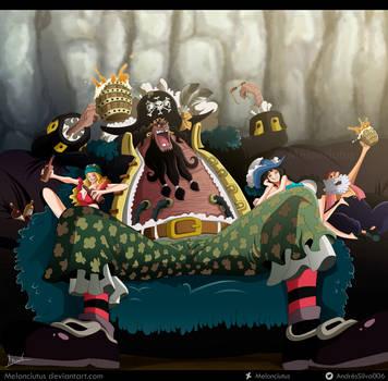 One Piece 925 - Kurohige by Melonciutus