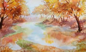 The autumn symphony by Ashvin-3