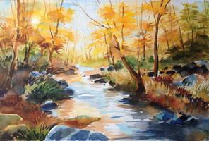 My leaves falls by Ashvin-3