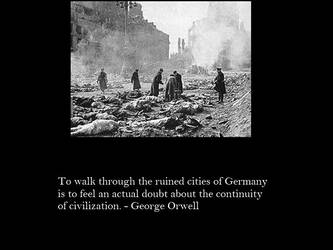 Orwell on Bombings by Skargill