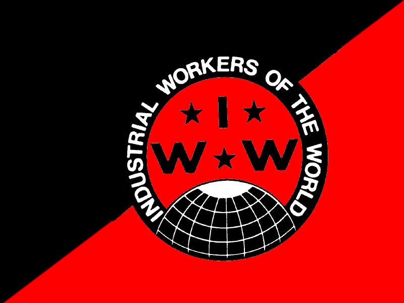IWW Black and Red Flag by Skargill