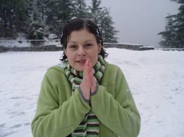 DelenStock_Snow_Girl by DelenStock