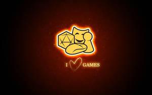 Sverok I Love Games Red by melin