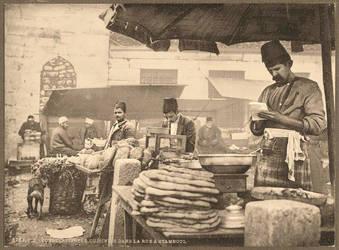 Old Istanbul Bazaar by zorker