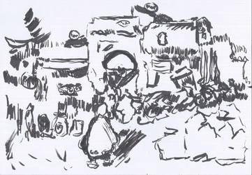 Jwm Ref Sketch Tunsia by 013933121leumassn