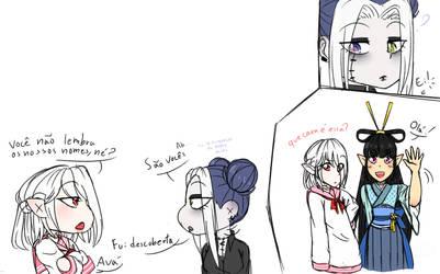 Dumb Sketch by NykaWolfs