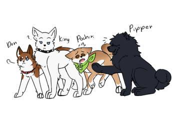 Weredogs by NykaWolfs