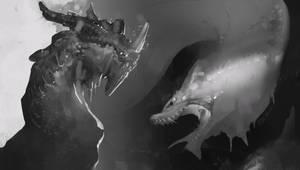 Dragons Sketches by NesoKaiyoH