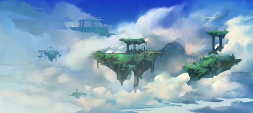 In the Ruins of Atlas by NesoKaiyoH