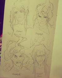 Caio Expressions by NesoKaiyoH