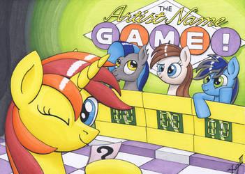 Artist Name Game by XeviousGreenII