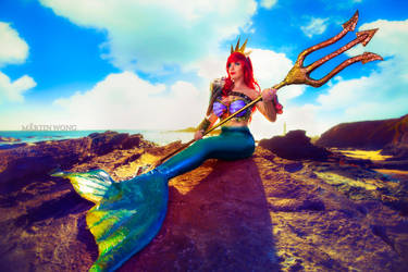 Queen Ariel 1 by MartinWongArts
