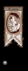 Riddle Banner by EldScar