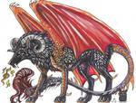 Dragon Wolf by Resennar