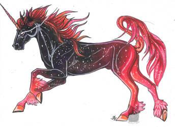 Galaxy Unicorn by Resennar