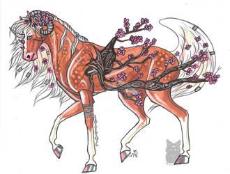 Blossom Unicorn by Resennar