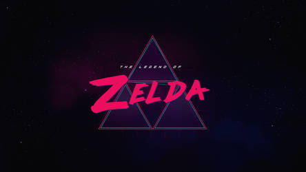 The Legend of Zelda Synthwave by byWizards