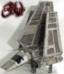 Imperial Shuttle Tydirium Custom by jvcustoms
