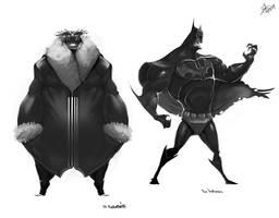 Heroes and Villains 01 by nerdiesid