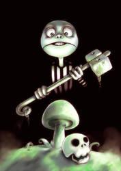 mushroom poster by nerdiesid