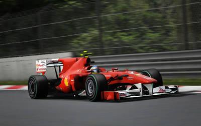 Alonso in Monza by XxMax14xX