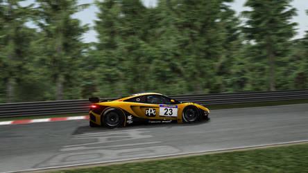 Doerr Motorsport McLaren Mp4 by XxMax14xX
