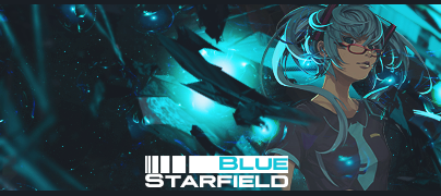 BlueStarfieldText by R4Xx