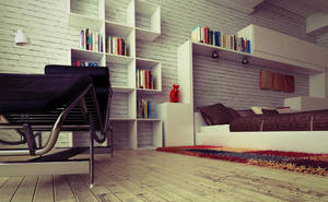 bedroom perspective by bizkitfan